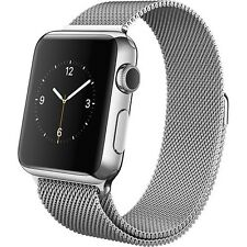-/*BRAND NEW*- Apple Watch 38mm Stainless Steel Case - Milanese Loop