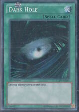 Dark Hole LCJW-EN283 Secret Rare Mint Sleeved YuGiOh Card