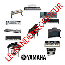 Ultimate YAMAHA Synthesizer Piano Repair Service Manuals   (500 manual s on DVD)