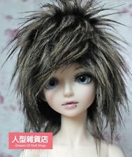 BJD doll wig 8-9 inch 20-22cm 1/3 BJD DOLL SD Fur Wig Dollfie Brown