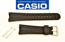 CASIO G-SHOCK WATCH BAND STRAP BLACK RUBBER  EF-305 EF-305-1 EF-305-9 2 PINS