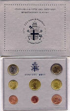 VATICAN OFFICIAL BU 2003 3,88 EURO COIN SET, MINTAGE ONLY 65000 sets, VERY RARE.