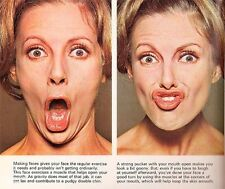 Non Surgical Facial Face Yoga Exercise Lips Mouth V Shape Chin Cheek Slimming