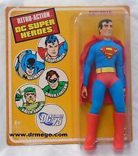 Superman Mattel Retro Action DC Superheroes mego style