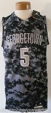 NWT Nike Georgetown Hoyas Mens Authentic AC Basketball Jersey M Pewter MSRP$120
