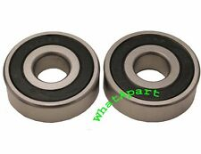 Two 6302-RS Bearing for scooters, Mopeds OD: 42mm, ID: 15mm