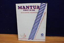 MANTUA FIRST IN HO CATALOG OF KITS & ACCESSORIES   546184