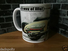 LAMBRETTA / VESPA SCOOTER - CERAMIC MUG - IDEAL GIFT - PERSONALISED IF REQUIRED