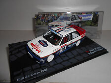 BMW M3 E30 RALLY TOUR CORSE 1987 BEGUIN EAGLEMOSS IXO 1/43