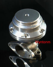 38MM Wastegate 10 PSI Turbo Stainless Steel Dump Valve Anodized Silver II