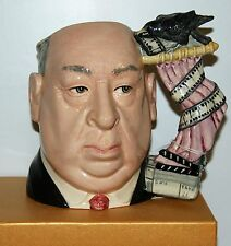 LARGE ROYAL DOULTON JUG ALFRED HITCHCOCK D6987 ***EXTREMELY RARE*** PINK CURTAIN