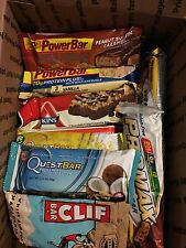 50 mixed lot protein power energy bars
