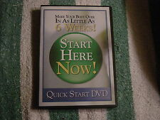 Quick Start DVD - Start Here Now (DVD, 2007) Make you body over in 6 weeks