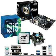 Intel Core i5 6600 3.3ghz & ASUS z170-p - CPU scheda madre & Bundle