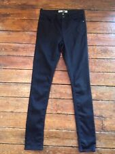 Topshop Moto Skinny Jeans Leigh  Black  Size 10 W28 To Fit L36 Tall UL39