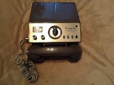 VINTAGE Tele-T From Teaberry Ham CB Radio Phone Set - Untested