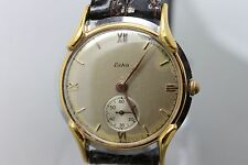 Vintage Original Eska Hand Wind Running  Wristwatch Men's Watch
