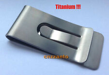 Free Shipping TIREMET Ti Titanium money clip Credit card clip holder Z0501