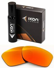 Polarized IKON Iridium Replacement Lenses For Oakley Jupiter Squared Fire Mirror