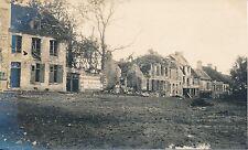 Guerre WW1 14-18 - Carte Photo Fère-en-Tardenois Village en Ruine  Aisne - GV335