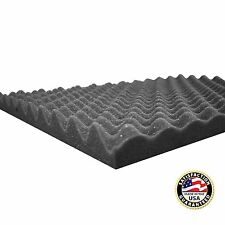 """Acoustic Soundproofing Convoluted Egg Crate Studio Foam 2.5"""" X 18"""" X 24"""""""
