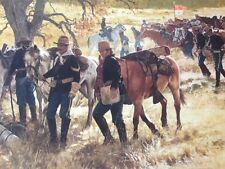 """""""Bivouac"""" Don Stivers Limited Edition Signed Print - US Cavalry"""