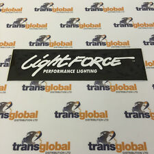LIGHTFORCE Sticker / Decal 205mm x 60mm SPOTLAMP LIGHT STRIKER BLITZ 140 170 240