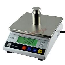 6kg x 0.1g Digital Precision Lab Weighing Scale w Counting Table Top Balance