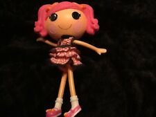 Lalaloopsy Berry Jars 'N' Jam Pink Hair  Pink Plaid Dress Pink Shoes Cute