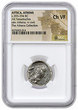 Greek City-State of Athens Silver Tetradrachm Athena & Owl NGC Ch VF SKU42588
