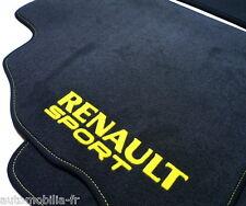 TAPIS VEL. GRIS/JAUNE PREMIUM SPORT POUR Renault Clio RS 182
