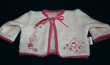 "Rare Zapf Creation CHOU CHOU 18"" Doll Clothes Pink Sweater"