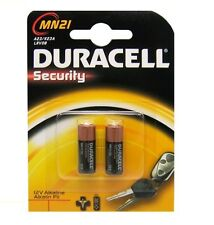 2 X DURACELL MN21 A23 23A LRV08 12V ALKALINE BATTERIES FOR DOORBELL, RC, ALARMS