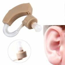 Adjustable Ear Sound Amplifier Volume Tone Listen Hearing Assistance Aid Kit UL