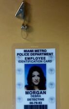 Dexter ID Badge - Employee Identification Card Debra Morgan Detective cosplay