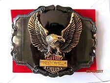 Vintage Harley Davidson  Belt Buckle  Eagle Raintree