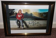 HAND SIGNED BY PAUL RODRIGUEZ - RARE FRAMED PHOTO WITH COA RARE AUTOGRAPHED 8X10