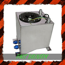 Aluminium Alloy Polished Race Rally Drift Fuel Tank Cell 10Ltr Litre 2.2 Gallon