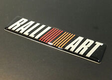 RALLIART ALA PORTA Boot RESINA BADGE EMBLEMA LANCER EVOLUTION V VI IV VII VIII X