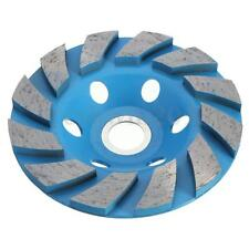 "6 Holds Diamond Segment Grinding Concrete Cup Wheel Disc Granite Stone 4"" 100mm"