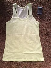 WOMEN'S NIKE SWAG RC DRI-FIT TANK TOP LARGE 524166 375 RACER BACK GREEN NWT