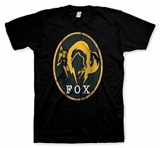 Metal Gear Solid V: Ground Zeroes T-Shirt FOX black (LG) BRAND NEW