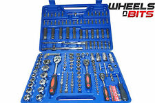 "Professional 172pc Socket and Bit Set Case Ratchet Hex Torx. 1/2"" 3/8"" 1/4"" 171"
