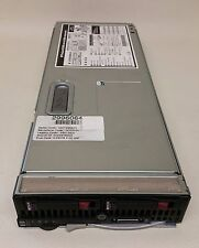 HP BL460c G5 2x Quad Core 2.66GHz E5430 16GB RAM 2x 72GB 15K SAS Blade server