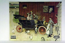 Vintage Ford Tin Lizzie jig saw Puzzel Norman Rockwell