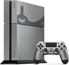 PS4 CONSOLE 500 GB GREY BATMAN LIMITED EDITION VERSION