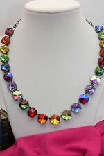 �� Somewhere Over The Rainbow ��12mm BOLD BLING Crystals, Cup Chain