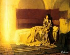 Henry Ossawa Tanner The Annunciation Canvas Print 16''x20''