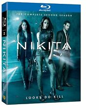 Nikita . The Complete Season 2 Two . Staffel . Maggie Q . 4 Blu-ray . NEU