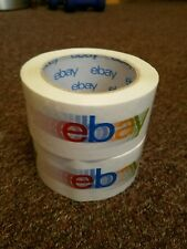 2 Rolls eBay Branded Shipping Tape 75 Yards Per Roll Packing Supplies
